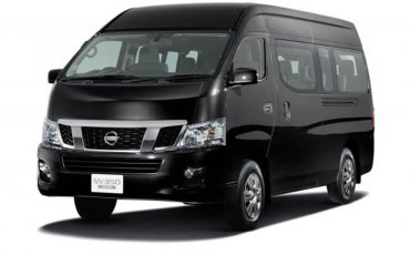 Van Rental: Nissan Urvan Manual