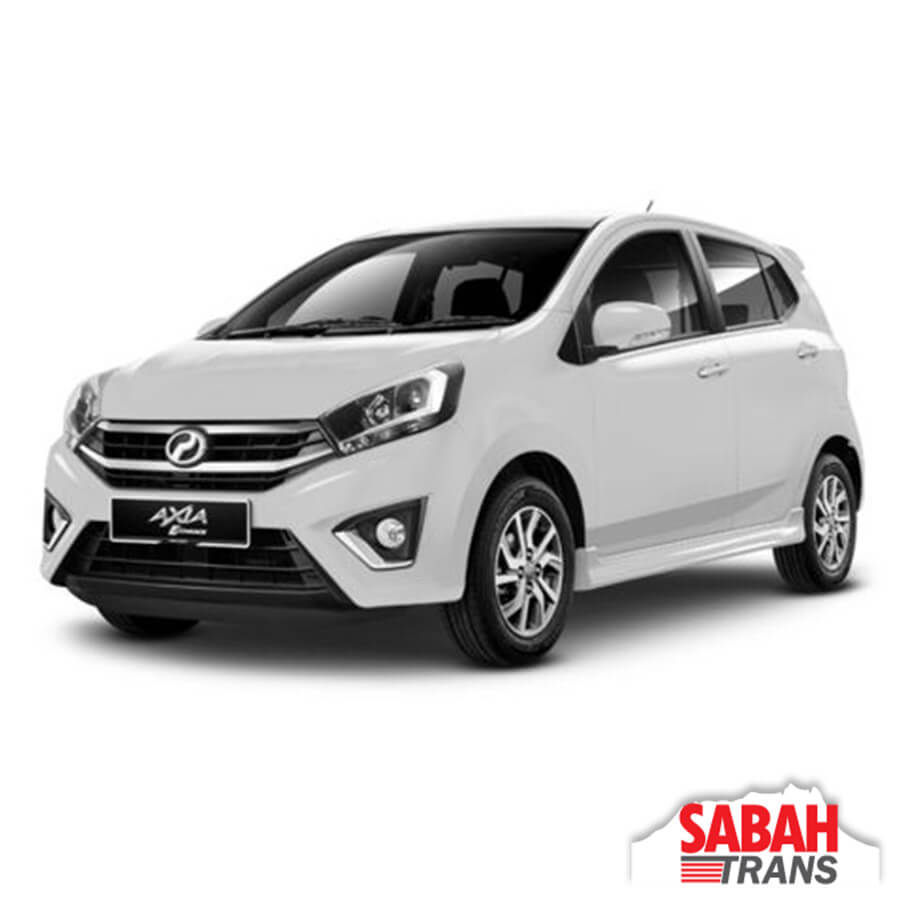 Car Rental: Perodua Axia Automatic
