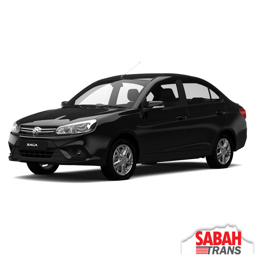 Car Rental: Proton Saga Automatic
