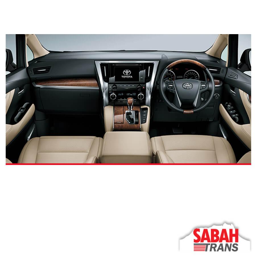 Luxury Mpv Rental Toyota Alphard A Leasing Amp Tours
