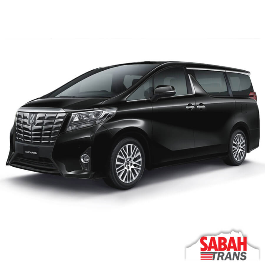 Luxury MPV Rental: Toyota Alphard (A)