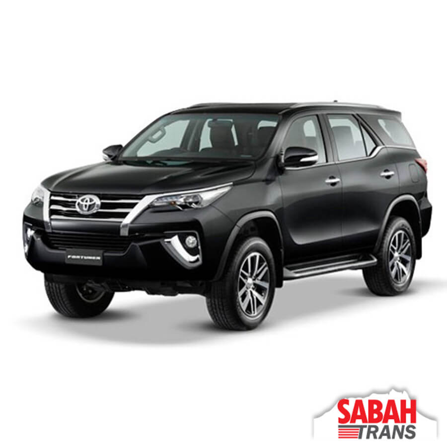 SUV Rental: Toyota Fortuner Automatic
