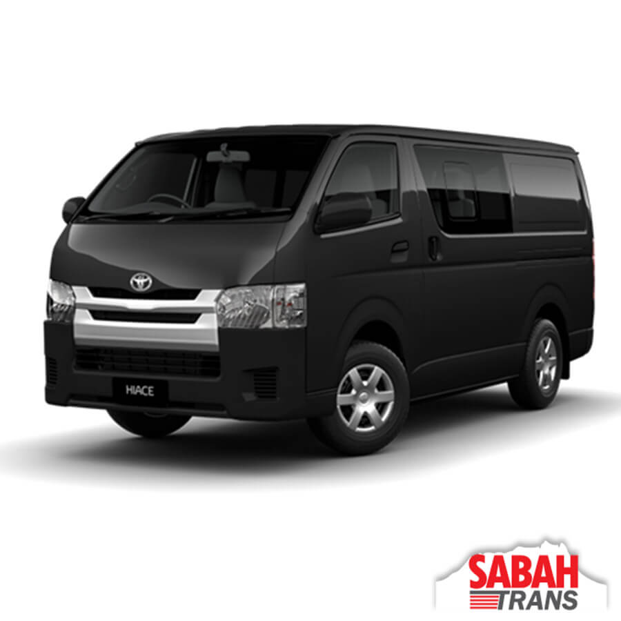 Toyota Sienna Rental: Van Rental: Toyota HiAce Manual • Car Rental & Tours Solution