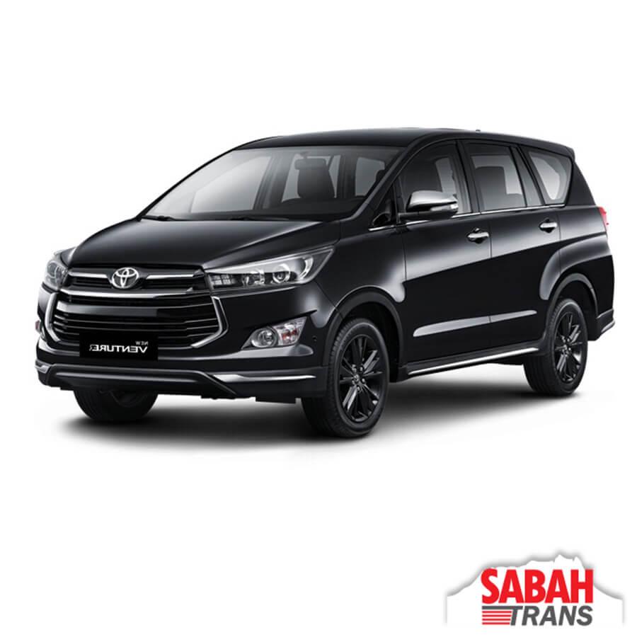 MPV Rental: Toyota Innova Automatic • Sabah Trans Car Rental