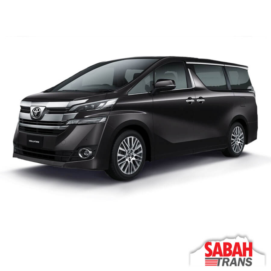 Luxury MPV Rental: Toyota VellFire (A)