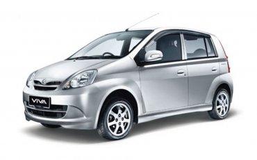 Car Rental: Perodua Viva Manual