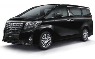 Luxury MPV Rental: Toyota Alphard (A)