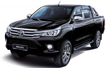 4WD Rental: Toyota Hilux Automatic