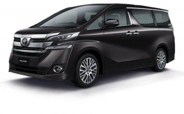 Luxury MPV Rental: Toyota VellFire (A)